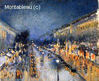 Le Boulevard Montmartre, Effet de Nuit