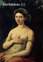 Portrait d'une femme nue