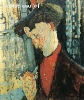 Portrait du peintre Frank Haviland