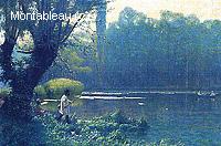 Après-midi d'Eté sur un Lac