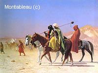 Arabes Traversant le Désert