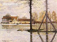 Bac à l'Ile-de-la-Loge, Inondation