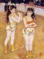 Acrobates au Cirque Fernando (Francisca et Angelina Wartenberg)