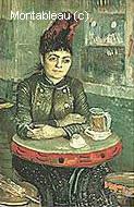 Agostina Segatori au Café du Tambourin