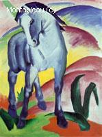 Cheval bleu I