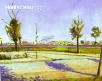 La route vers Gennevilliers