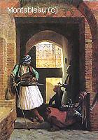 Arnauts du Caire à la Porte de Bab-el-Nasr