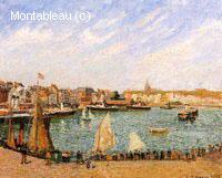 Après-midi, Soleil, le Port Intérieur, Dieppe