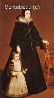 Doña Antonia de Ipeñarrieta y Galdós et son fils Luis