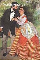 Alfred Sisley et son Epouse, les Fiancés