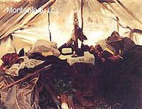 A l'Intérieur d'une Tente dans les Rocheuses Canadiennes