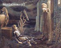 Le Rêve de Lancelot à la Chapelle du Saint-Graal