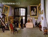 Studio de Bazille; 9 rue de la Condamine