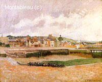 Après-midi, le Bassin de Duquesne, Dieppe, Marée Basse