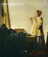 La dame au collier de perles