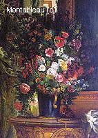 Bouquet de Fleurs sur une Commode