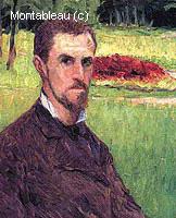 Autoportrait dans un Parc à Yerres