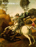 Saint-George terrassant le Dragon