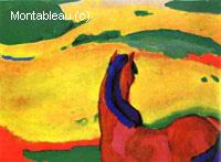 Cheval et paysage
