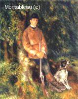 Alfred Bérard et son Chien