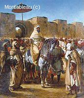 Le Sultan du Maroc et son Entourage