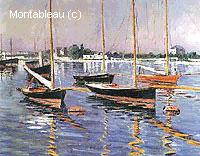 Bateaux sur la Seine à Argenteuil