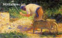 Briseur de pierre et brouette, le Raincy