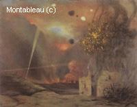 1914: Paysage de ruines et incendies