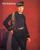 Achille Degas Portant l'Uniforme Militaire